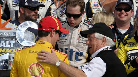Brad versus Joey: The quest to be number one at Penske