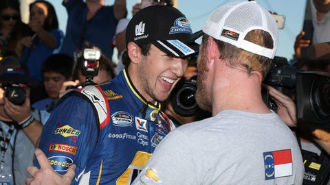 Should an 18-year-old NASCAR champ still have to do the dishes?