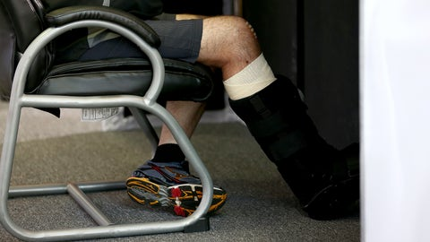 For Tony Stewart: A new right leg