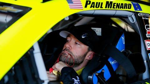 NASCAR driver New Year's resolutions: Paul Menard