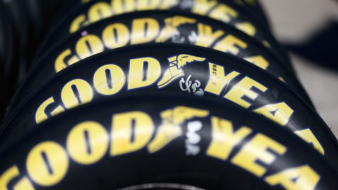 NASCAR driver New Year's resolutions: Goodyear