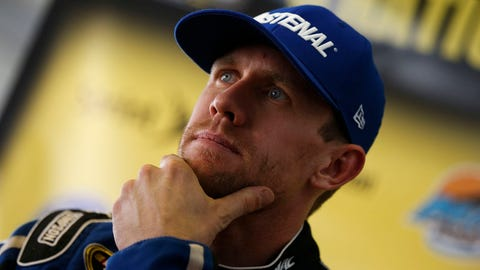 NASCAR driver New Year's resolutions: Carl Edwards