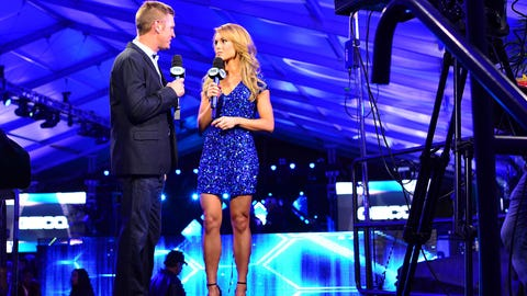 Clint Bowyer and Molly McGrath