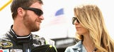 Dale Jr.'s engaged and NASCAR Wonka has some advice