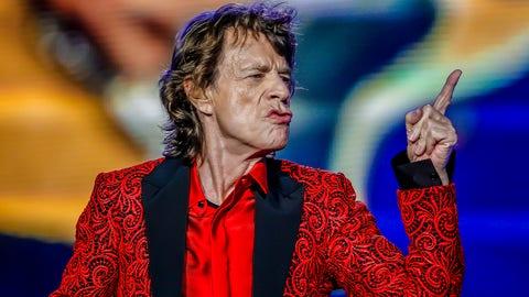 Kiss the Mick?