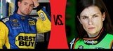 Ricky Vs. Danica: Who's On Top After The Brickyard?