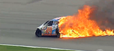 Pocono's Top Five Craziest Moments: Devastating Hits, Flips and Fires