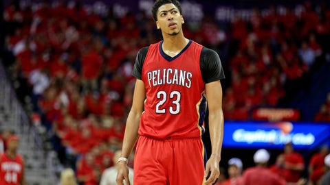 Anthony Davis is about to demand your attention