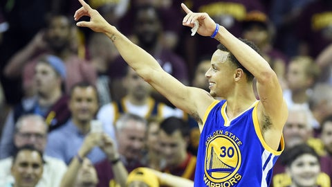 4. Stephen Curry, PG, Golden State Warriors