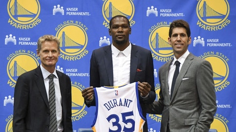 Executive of the Year: Bob Myers, Golden State Warriors & Daryl Morey, Houston Rockets (TIED)