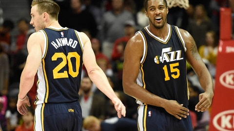 Jazz best: Derrick Favors (85 overall)