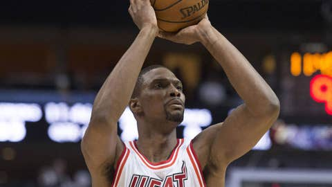 Heat best: Chris Bosh (86 overall)