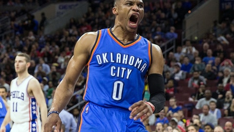 Thunder best: Russell Westbrook (93 overall)
