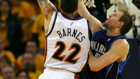Matt Barnes gets Dirk