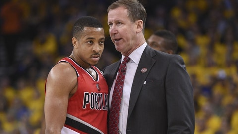 Terry Stotts, Portland Trail Blazers: B-