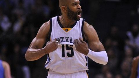 Memphis Grizzlies: Vince Carter, 39