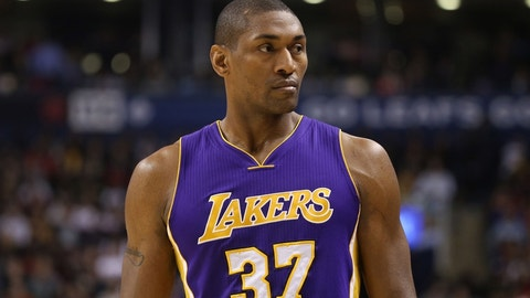 Metta World Peace, Los Angeles Lakers