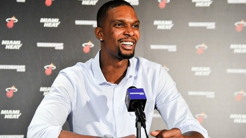 Heat show respect to the selfless Chris Bosh