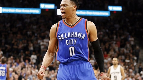 Inspired by Russell Westbrook