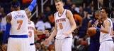 New York Knicks Exercise Team Option For Kristaps Porzingis