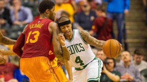 Paul George to the Boston Celtics or Miami Heat