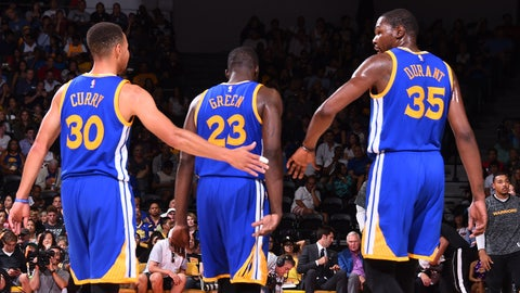 Golden State Warriors: Kevin Durant, Stephen Curry, Draymond Green