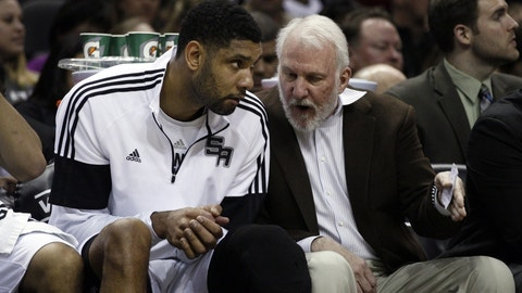 Gregg Popovich replaced Tim Duncan with the Spurs' best offense ever