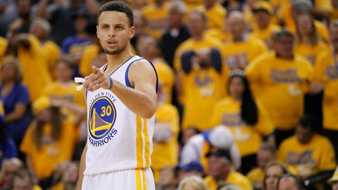Stephen Curry, PG, Golden State Warriors: Unrestricted
