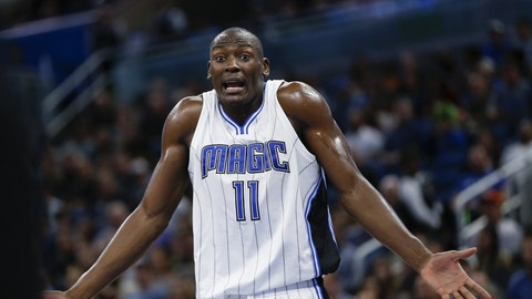 Bismack Biyombo, C, Orlando Magic