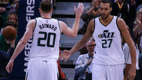 Utah Jazz: Rudy Gobert, Gordon Hayward, George Hill