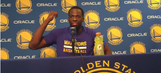 Draymond Green explains kick of James Harden that resulted in a crucial flagrant foul