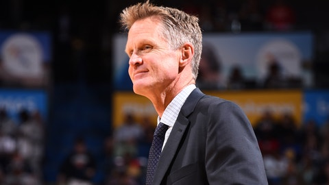 Steve Kerr ruins the night for us all