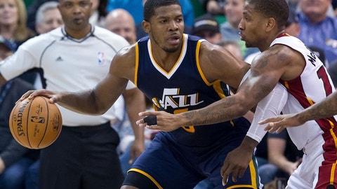 Utah Jazz: Joe Johnson, 35