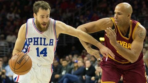 Philadelphia 76ers: Sergio Rodriguez, 30