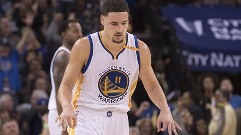 Warriors G Klay Thompson