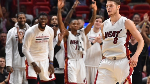 Miami Heat: SG Tyler Johnson