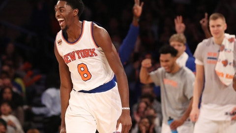 New York Knicks: SG Justin Holiday