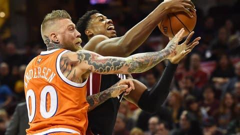 Cleveland Cavaliers: Chris 'Birdman' Andersen, 38