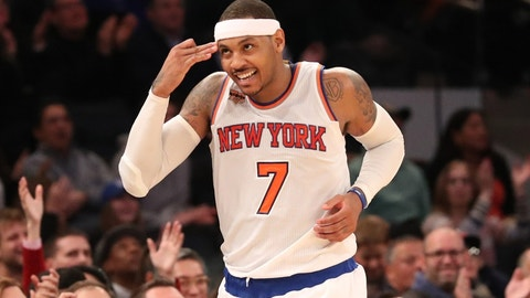 Carmelo Anthony, New York Knicks