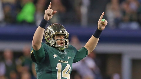8. Fiesta: No. 6 Baylor vs. No. 15 UCF