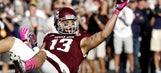 Texas A&M receiver Evans declares for draft