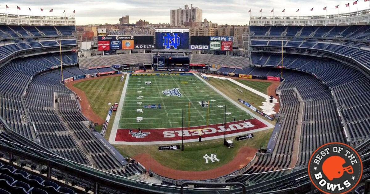 The Bronx Is Yawning Pinstripe Bowl Yankee Stadium Rem