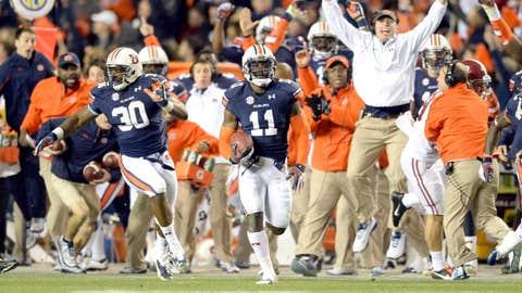 1. Auburn at Alabama (Nov. 29)