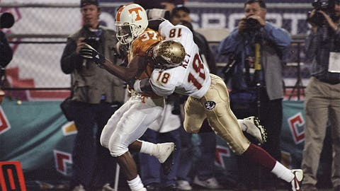 First BCS national title game – 1999 Fiesta Bowl