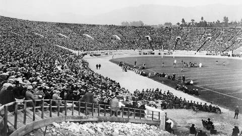 First Rose Bowl – 1902
