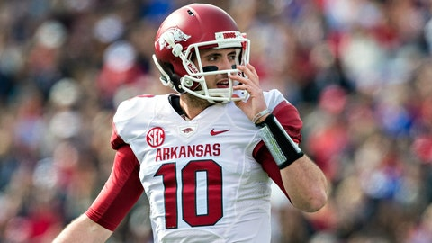No. 12: Brandon Allen, Jr., Arkansas