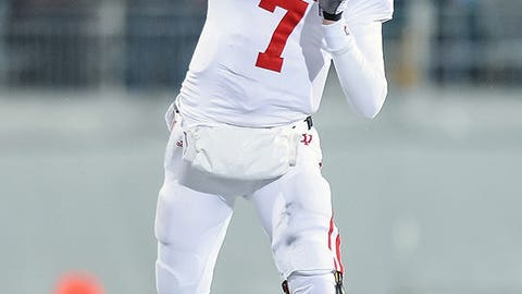 No. 3: Nate Sudfeld, Jr., Indiana