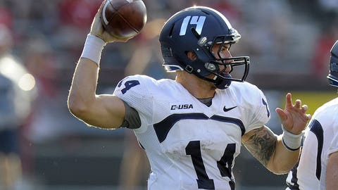 No. 8: Taylor Heinicke, Sr., Old Dominion