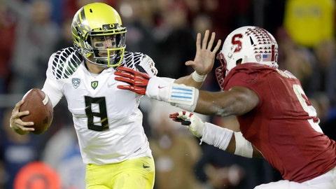 2. Stanford at Oregon (Nov. 1)