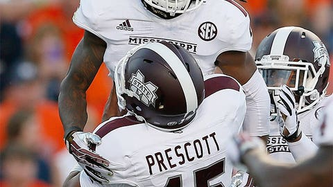 Ole Miss or Mississippi State over Auburn (Nov. 1 or Oct. 11)